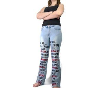 💥Le More Jeans Funky Street Wear